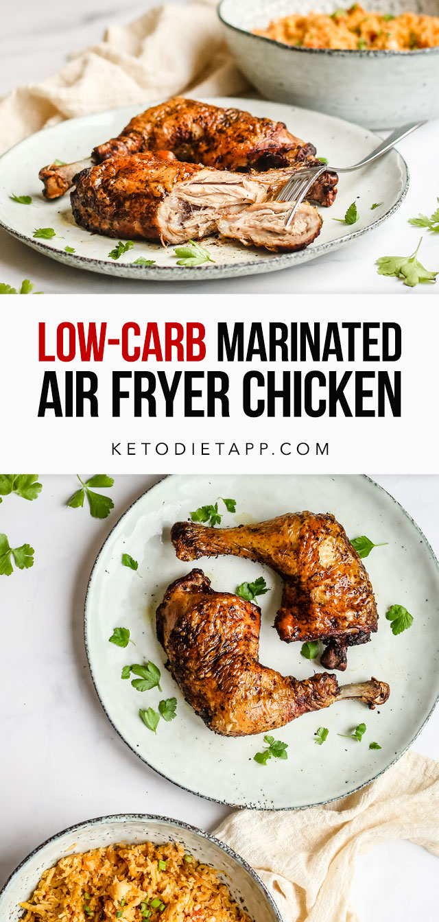 Marinated Keto Air Fryer Chicken