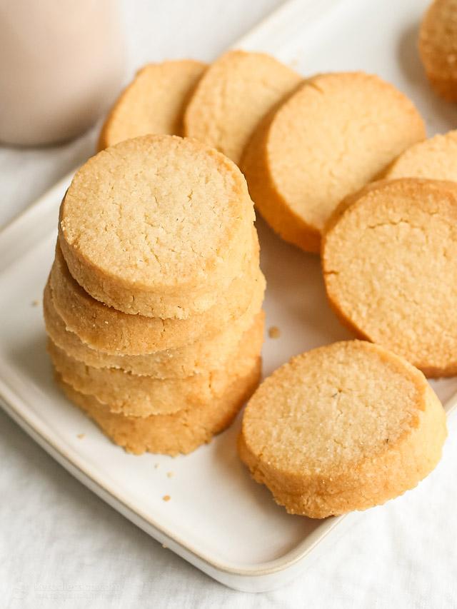 Classic Keto Shortbread Cookies