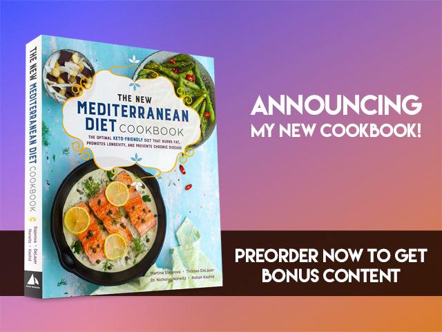 Announcing the New Mediterranean Diet Cookbook!