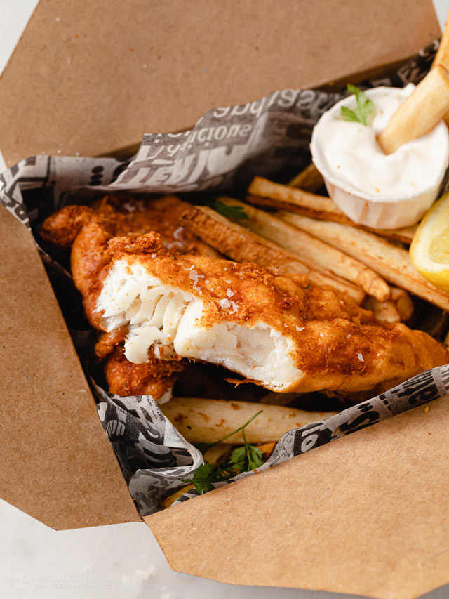 Low-Carb Fish and Chips