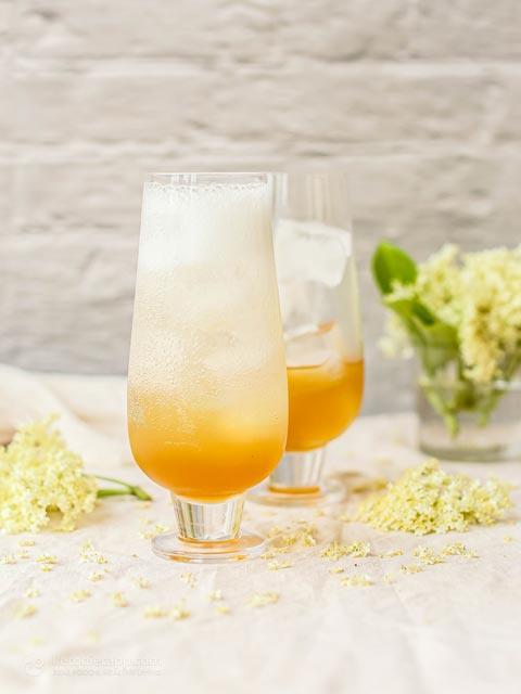 Sugar-Free Elderflower Cordial