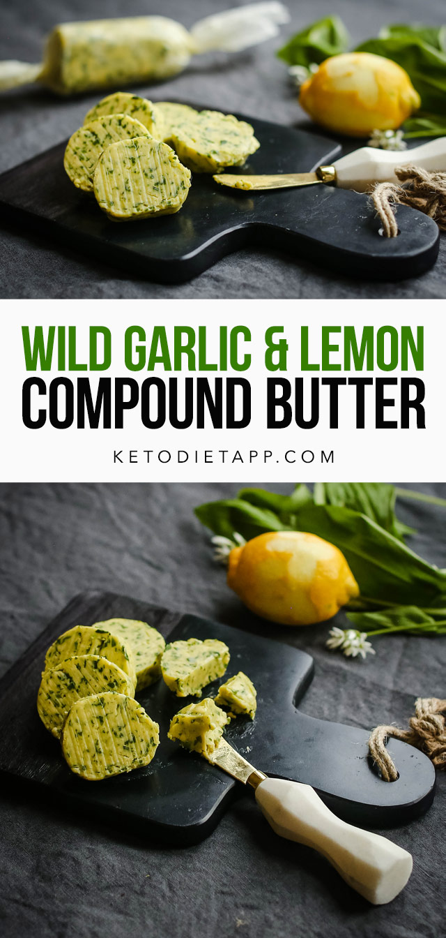 Wild Garlic & Lemon Compound Butter