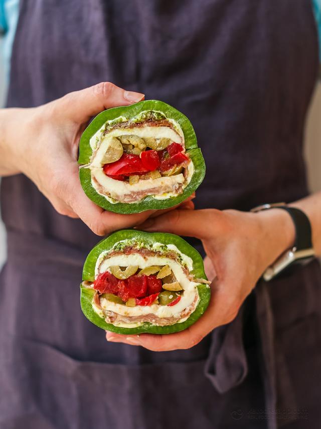 Italian Bell Pepper Sandwich
