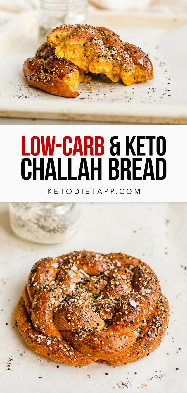 Keto Challah Bread