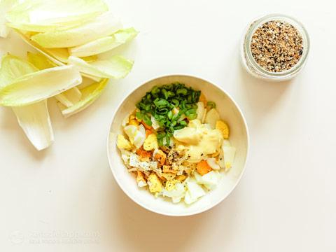 Keto Everything Bagel Creamy Egg Salad