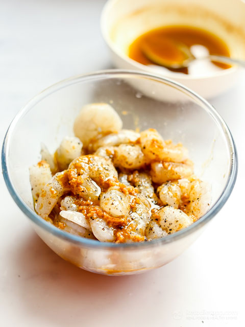 Keto Sheet Pan Shrimp Fajitas