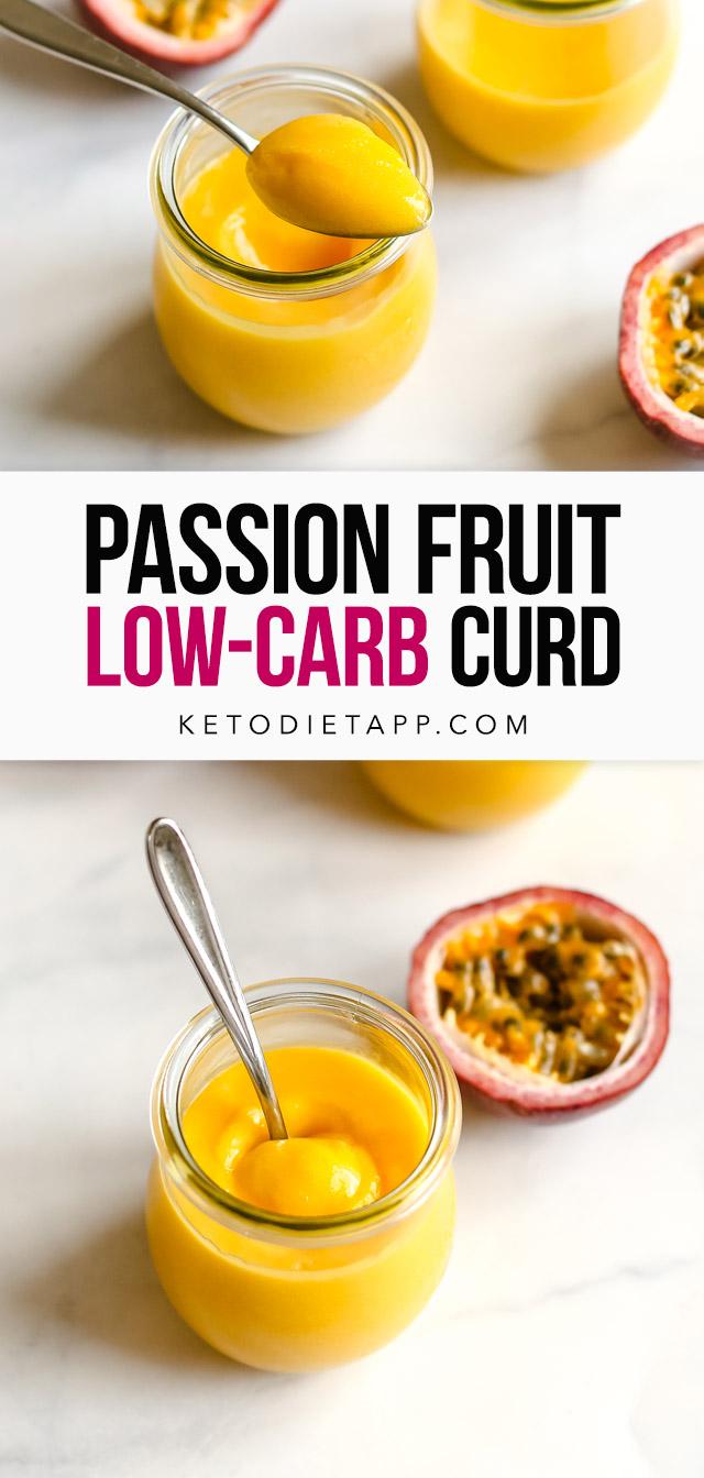 Low-Carb Passion Fruit Curd