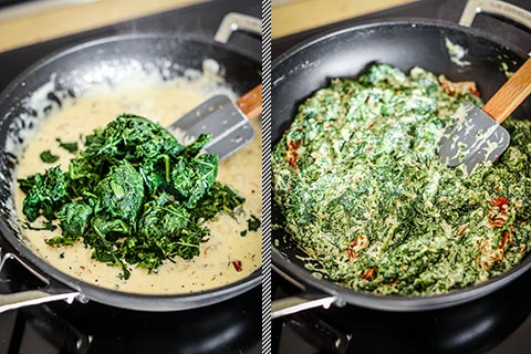 Keto Tuscan Creamed Spinach