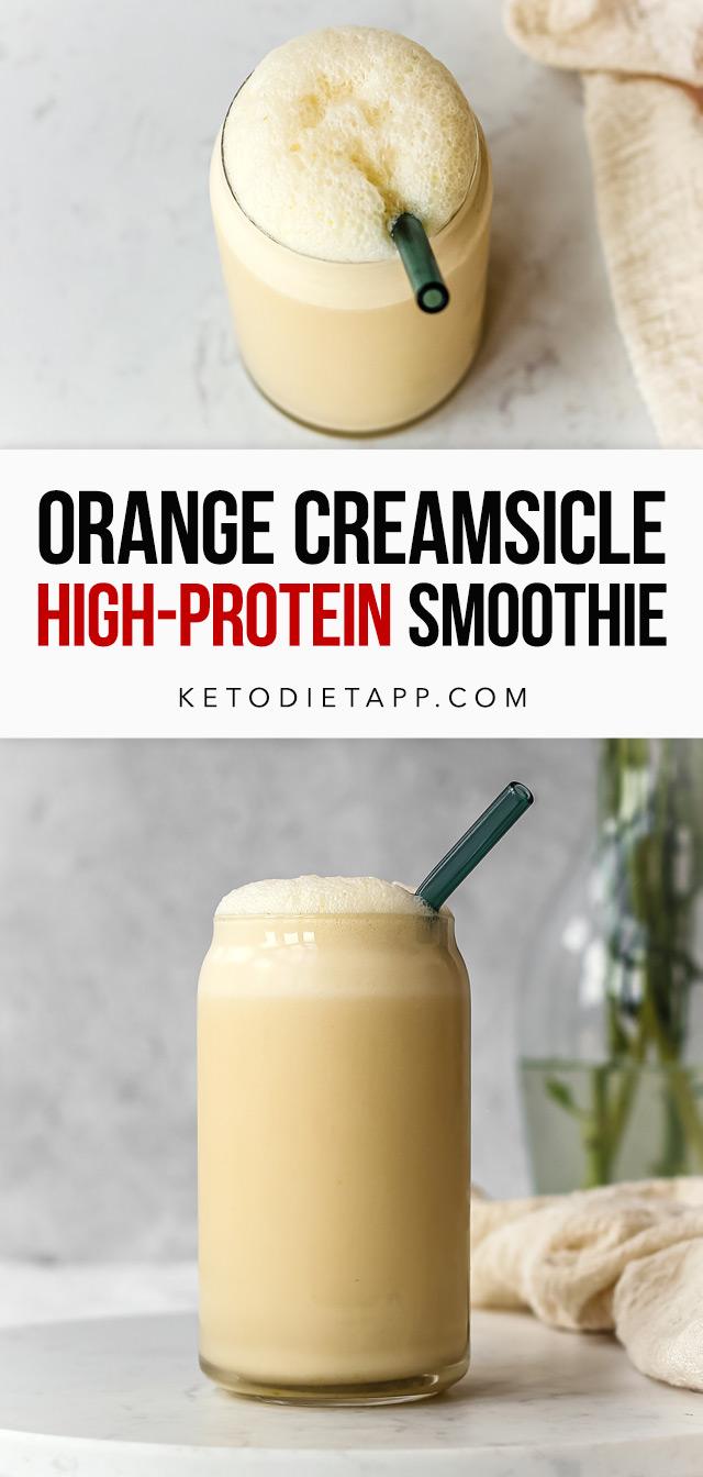 High-Protein Orange Creamsicle Smoothie