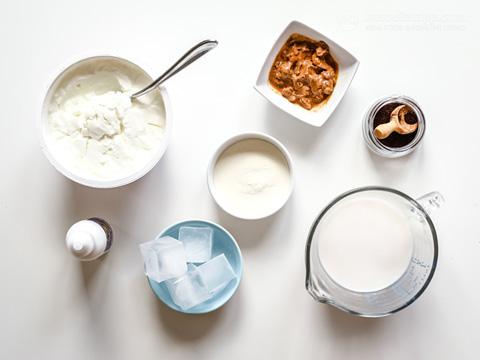 High-Protein Vanilla Smoothie