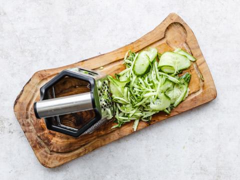 Chunky Low-Carb Cucumber Raita