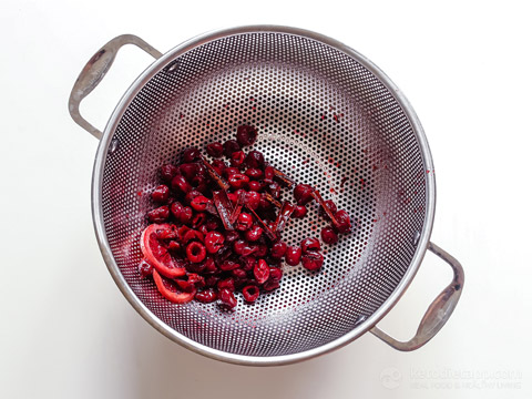 Low-Carb Sour Cherry Liqueur (Griotka)