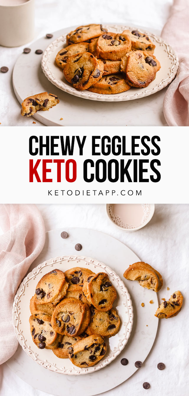 Chewy Keto Eggless Cookies