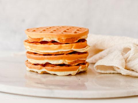 Savory Keto Protein Waffles