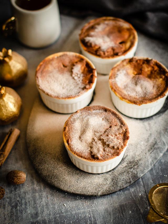 Keto Apple Mini Pot Pies