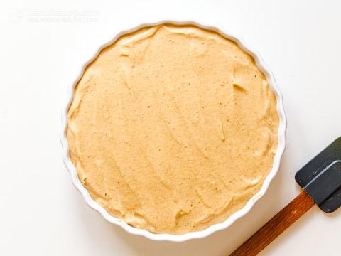 No Bake Keto Pumpkin Cheesecake