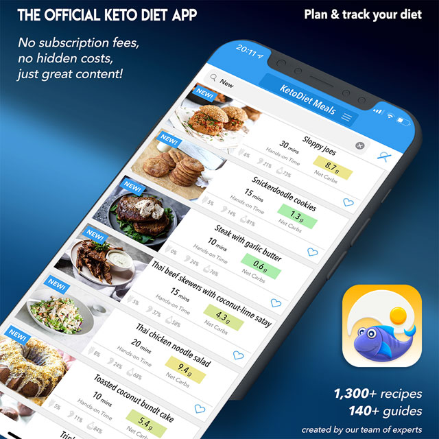 KetoDiet App Got Even Better: 1,300 Recipes & Thousands of Restaurant Meals