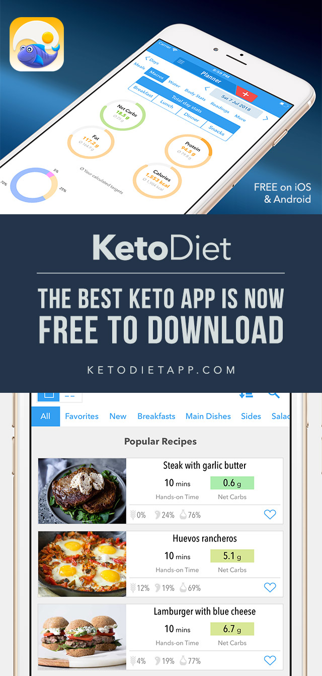 The Best Keto App is Now Free To Download!