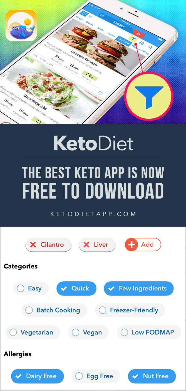 Allergy Filtering is Now Available in the KetoDiet App