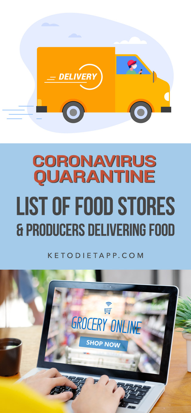 List of Food Stores and Producers Delivering Food During the Coronavirus Isolation