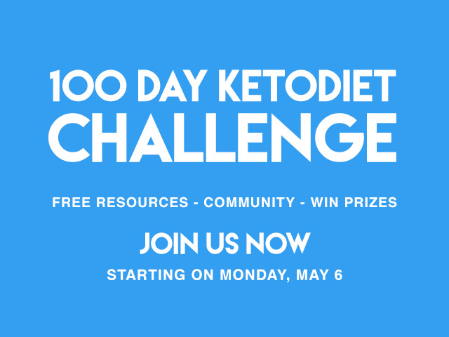 Join Our Free 100-Day KetoDiet Challenge - Starting May 6th 2019