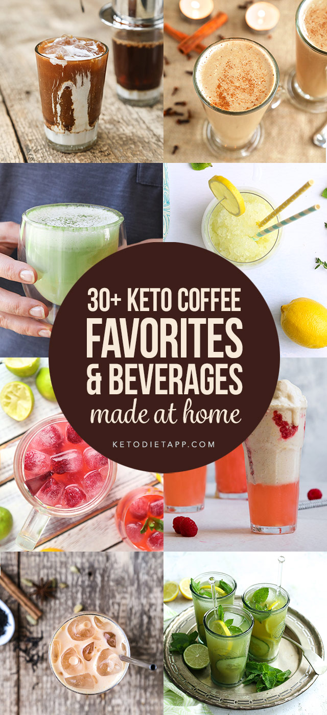 30+ Keto Coffee Favorites & Beverages You Can Make At Home