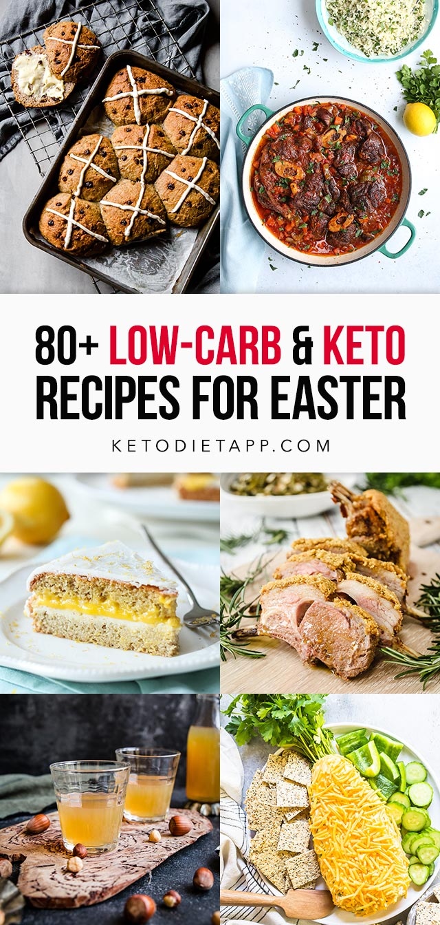 100 Low-Carb and Keto Recipes for Easter
