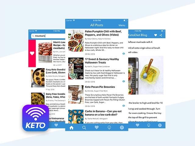 Announcing the New Free Keto App!