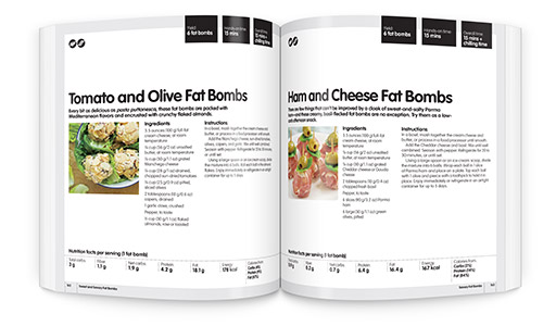What's inside the Fat Bombs Cookbook