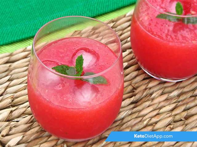 Watermelon ice drink