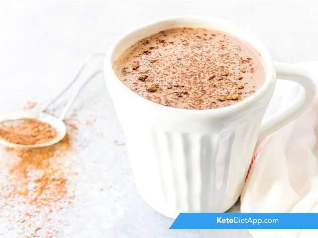 Creamy spiced cocoa