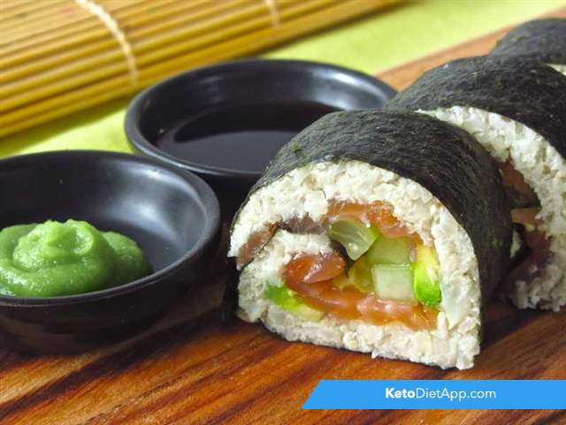 Sushi: California rolls