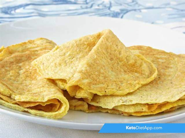 Essential keto crepes
