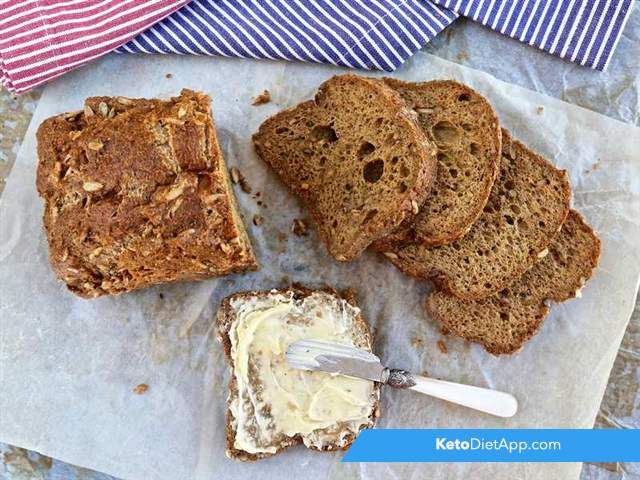 Fluffy grain-free sunflower bread