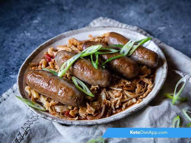 Sausage & cabbage casserole