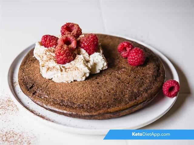 Chocolate & macadamia pancakes