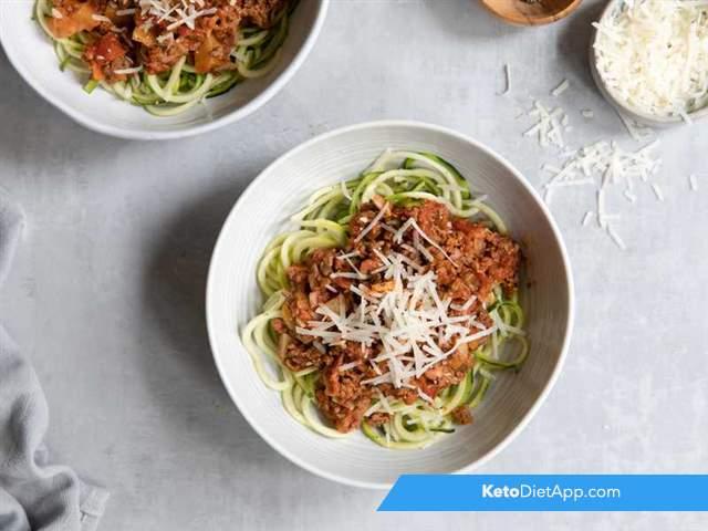 Faux spaghetti Bolognese