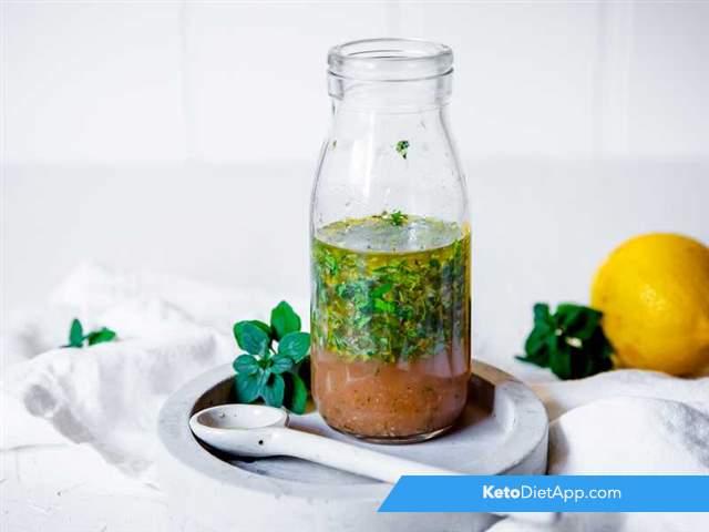 Mediterranean herb vinaigrette