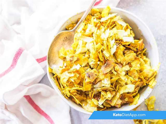 Golden milk coconut flakes