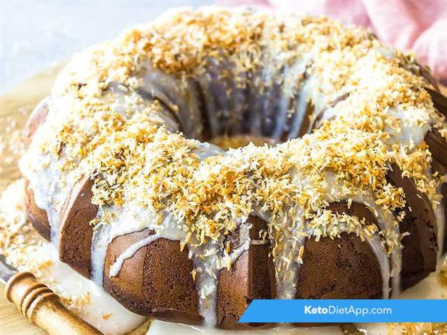 Toasted coconut bundt cake