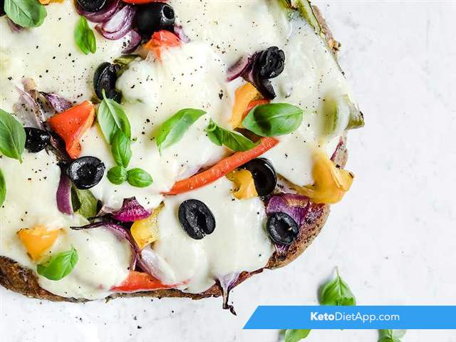 Pizza focaccia bread