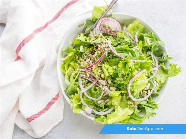 Quick green salad