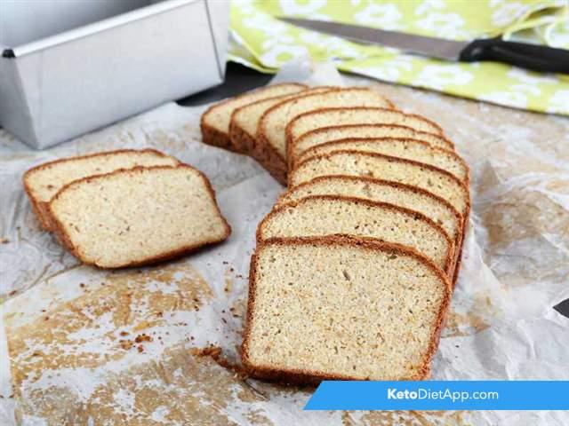 Low-carb sourdough bread