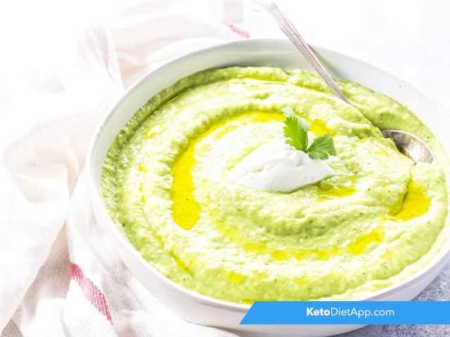Creamy green Gazpacho
