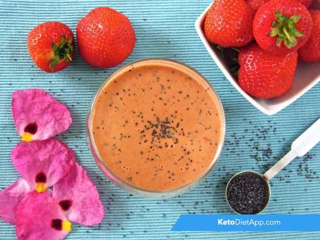 Strawberry & poppy seed vinaigrette