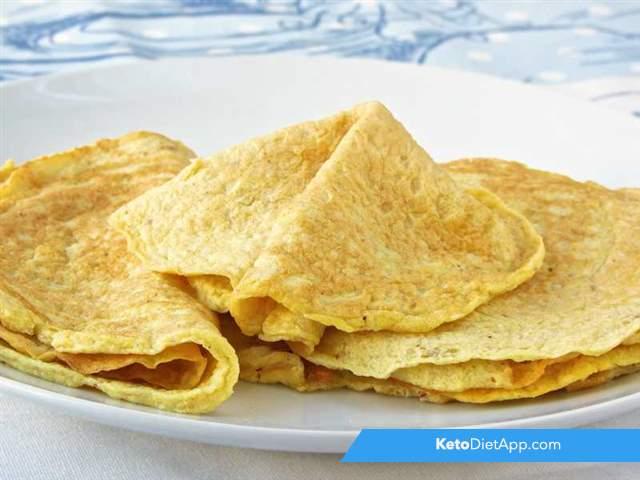 Multi-purpose keto crepes