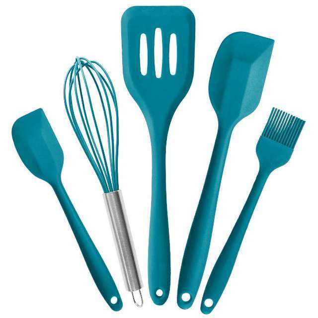StarPack Premium Silicone Kitchen Utensils Set