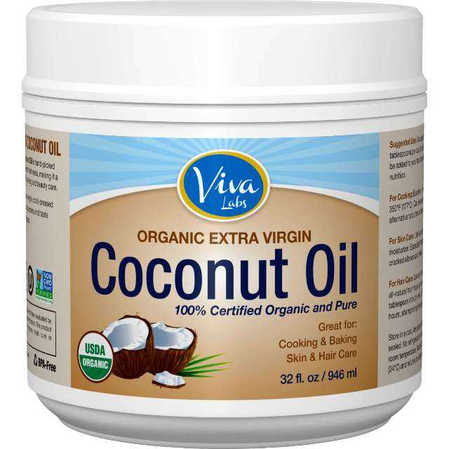 Viva Labs Organic Extra Virgin Coconut Oil