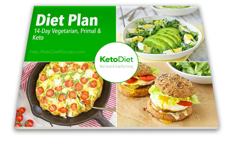 14-Day Diet Plan - Low Carb, Primal & Keto eBook