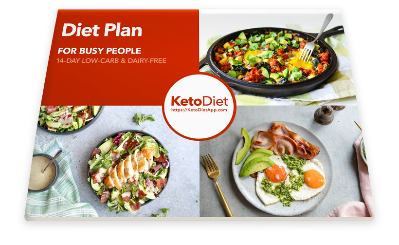 14-Day Diet Plan - Low Carb & Keto eBook for Busy People
